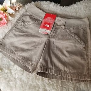 💐North Face💐Lotus Cashmir Canvas Shorts